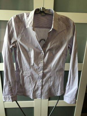 Bluse von H&M flieder/weiß Gr. 36