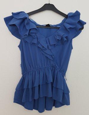 H&M Blouse topje blauw