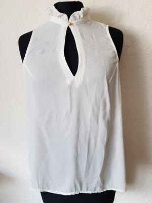 Bluse von H&M mit Rüschkragen