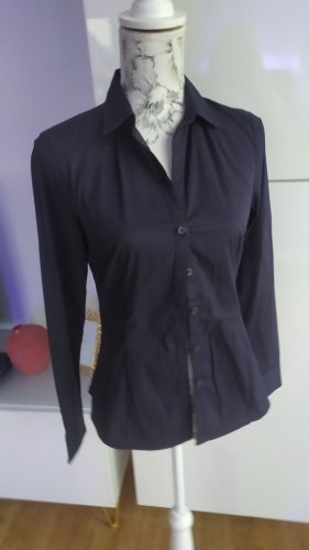 Bluse von H&M Stretch schwarz Gr. 36 S
