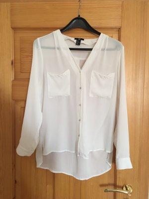 Bluse von H&M weiß Größe 38