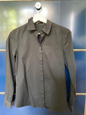 Hallhuber Camicia blusa nero