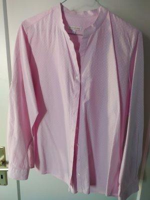 HeartKiss Bluzka ze stójką biały-jasny różowy