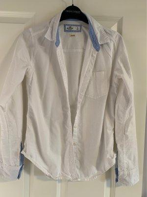 Hollister Shirt Blouse white-azure