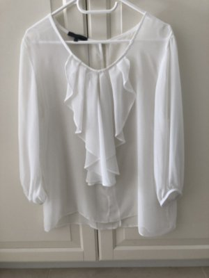 imitz Ruffled Blouse natural white