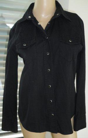 Bluse von Jette in schwarz, Gr.38 (146-AE)