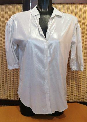 Jones Glanzende blouse wolwit-licht beige Viscose