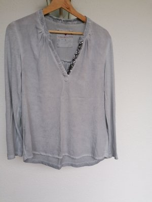 Lieblingsstück Long Sleeve Blouse silver-colored