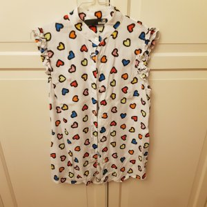 Love Moschino Blouse Top white