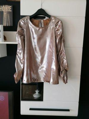 Bluse von Mango, Gold Größe M
