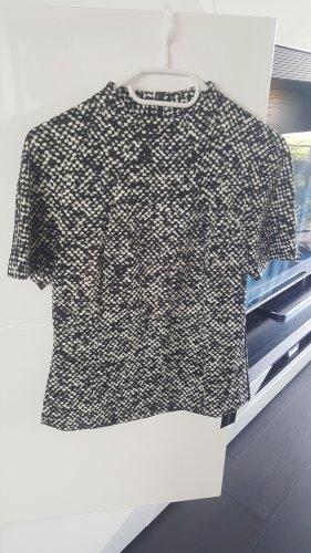 Marc Cain Blouse Shirt white-black