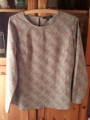 Massimo Fabbro Geruite blouse veelkleurig