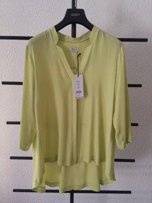 Minx Blouse Shirt lime yellow