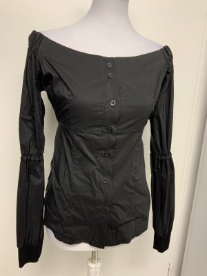 Nicowa Long Sleeve Blouse black