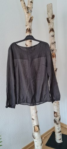 Opus Long Sleeve Blouse dark grey