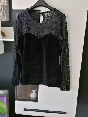Bluse von Orsay, Samt Spitze Must Have Größe S/M