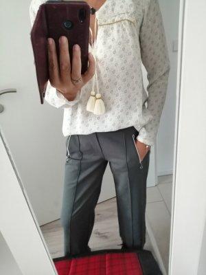 Pepe Jeans Blusa a tunica crema-petrolio