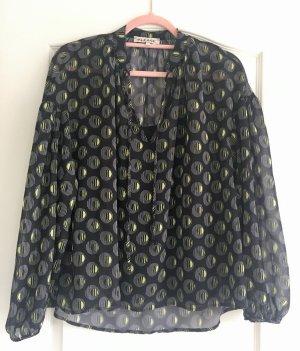 Bluse von Please, Gr. XS (34/36), schwarz, wie neu
