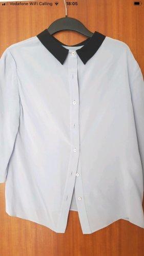 Prada Blusa-camisa azul bebé-negro