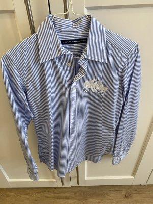 Ralph Lauren Camicia blusa bianco-blu
