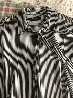 Bluse von Replay, gestreift, Grösse S