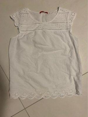 s.Oliver Short Sleeved Blouse white
