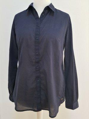 s.Oliver Shirt Blouse dark blue-bordeaux