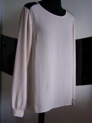 Saint Tropez Long Sleeve Blouse natural white