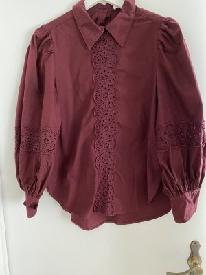 See by Chloé Blusa in merletto bordeaux