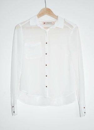 Springfield Long Sleeve Blouse white