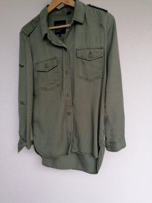 Superdry Shirt Blouse olive green