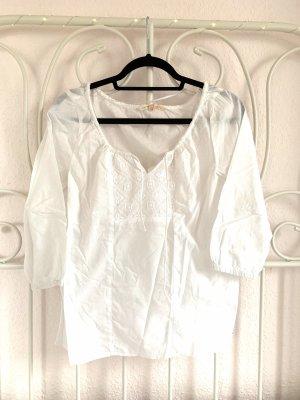 Bluse von Tom Tailor Denim Größe XS Weiß