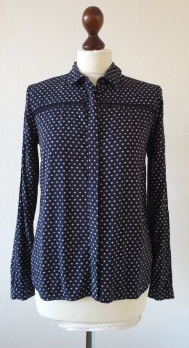 Bluse von Tom Tailor * Gr.36 * blau-weiß * Sterne