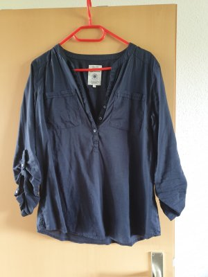 Bluse von Tom Tailor in blau
