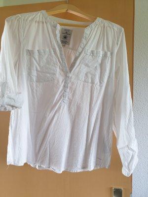 Bluse von Tom Tailor in weiß