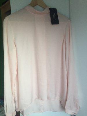 Bluse von Tom Tailor rosé