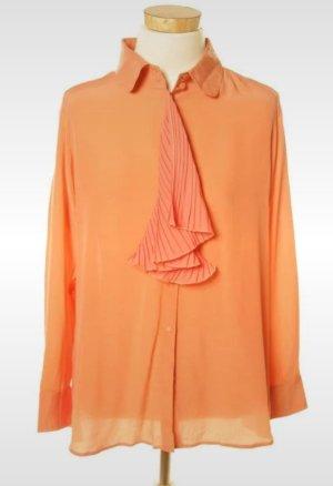 Uterqüe Tie-neck Blouse multicolored