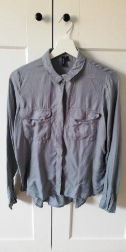 Bluse von Vero Moda, blaugrau, Gr. S