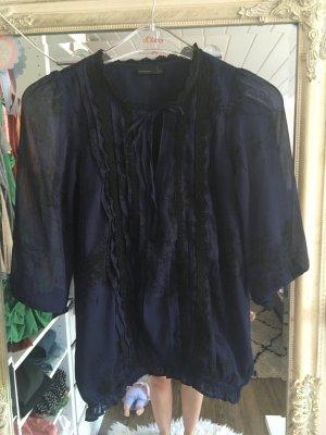 Bluse von Vero Moda in dunkelblau schwarz Größe XS