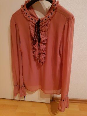 Vero Moda Ruffled Blouse rose-gold-coloured-pink