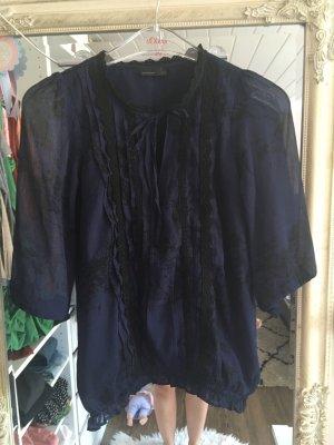 Bluse von Vero Moda in schwarz blau Größe XS