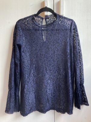 Bluse von Zara aus Spitze