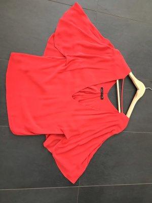 Bluse von Zara in rot