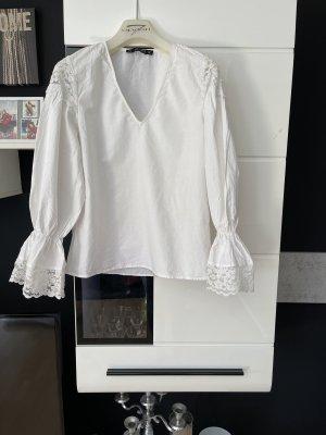 Bluse von Zara in Weiß , Größe S