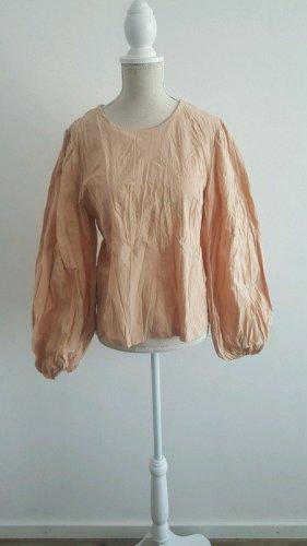 Bluse von Zara mit Knitterefekt Gr.S