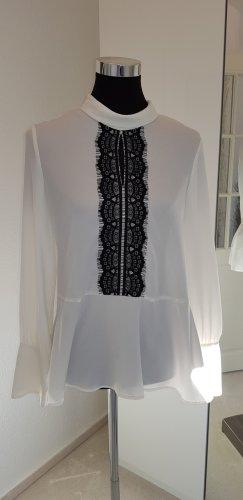 ***Bluse von Zara mit Spitzendetails***