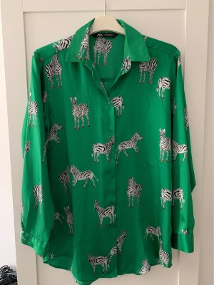 Bluse von Zara mit Zebras