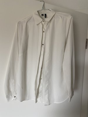 Zara Camicia blusa bianco