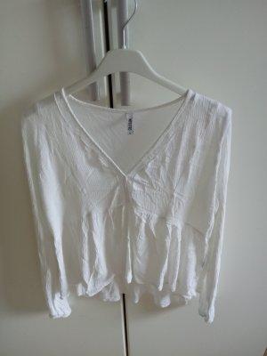 Colloseum Blusa in merletto bianco