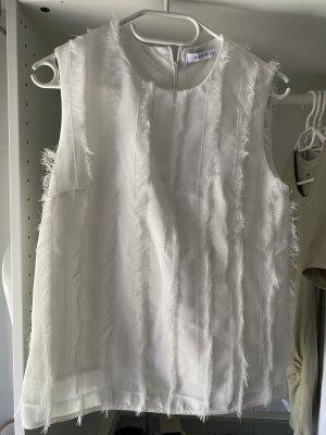 Reserved Sleeveless Blouse white